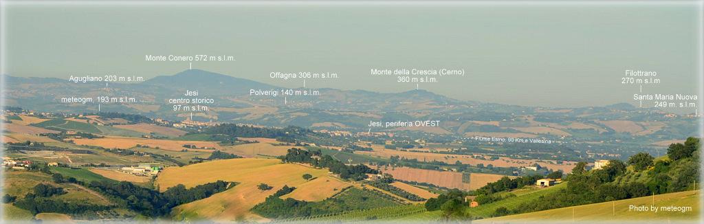 Veduta da Poggio San Marcello
